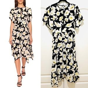 BA&SH floral midi dress M